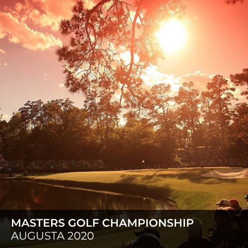 MASTERS GOLF CHAMPIONSHIP- AUGUSTA 2020-final